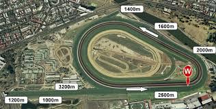 Flemington track
